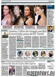 Corriere Della Sera  (10 08 2009 )