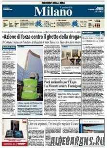 Corriere Della Sera Milano  ( 09 08 2009 )