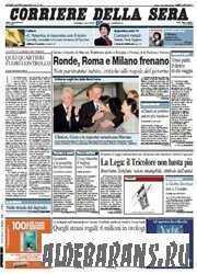 Corriere Della Sera  (06 08 2009 )