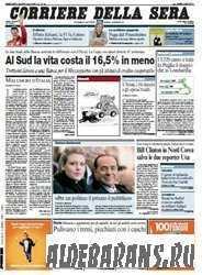 Corriere Della Sera  (05 08 2009 )