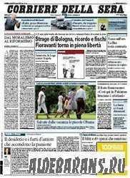 Corriere Della Sera  (03 08 2009 )