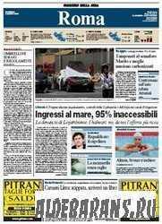 Corriere Della Sera Roma  ( 02 08 2009 )