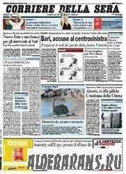 Corriere Della Sera  ( 31 07 2009 )
