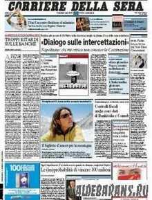 Corriere Della Sera  ( 21 07 2009 )