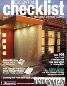 Electrical Checklist n 9 2009
