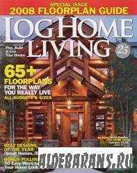 Log Home Living - Special Issue (April), 2008 Floorplan Guide