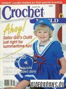 Crochet World №8 1989