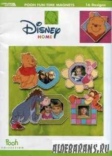 Disney Home Pooh Fun-Time Magnets
