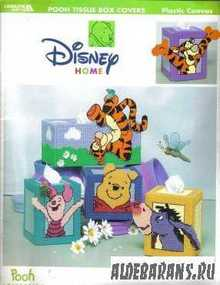 Disney Home Pooh Tissue Box Covers