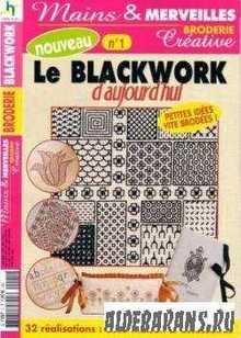 Mains & Marveilles broderie Creative. Le Blackwork